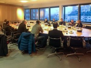 Sitzung der Kollegengruppe am 26.01.2015 in Düsseldorf