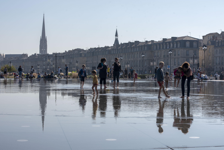 Bordeaux, Miroir D'Eau (Michel Corajoud, 2006). Foto: Christian Wendling