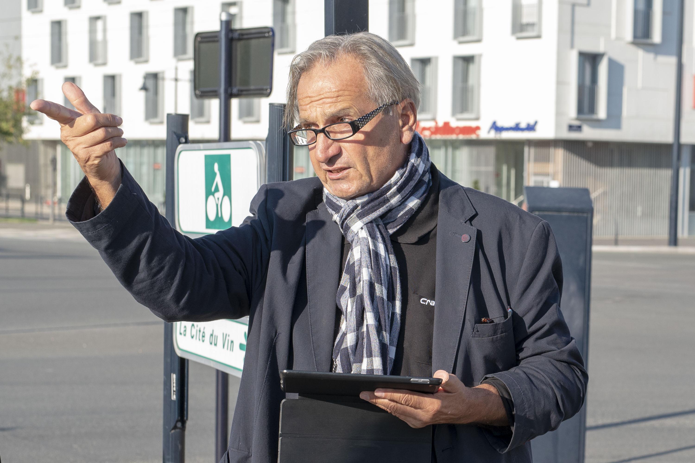 Rainer Rutow, Oktober 2018, Bordeaux.